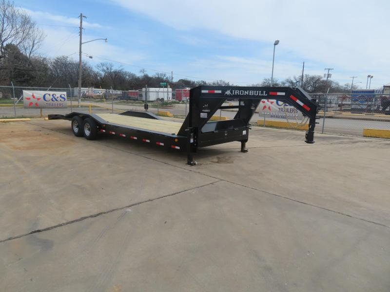 "2019 Iron Bull 102"" x 28' Gooseneck Equipment Trailer"