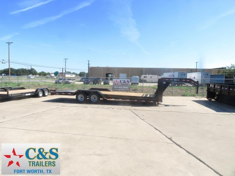 2019 Delco Trailers 102 x 24 Equipment Trailer