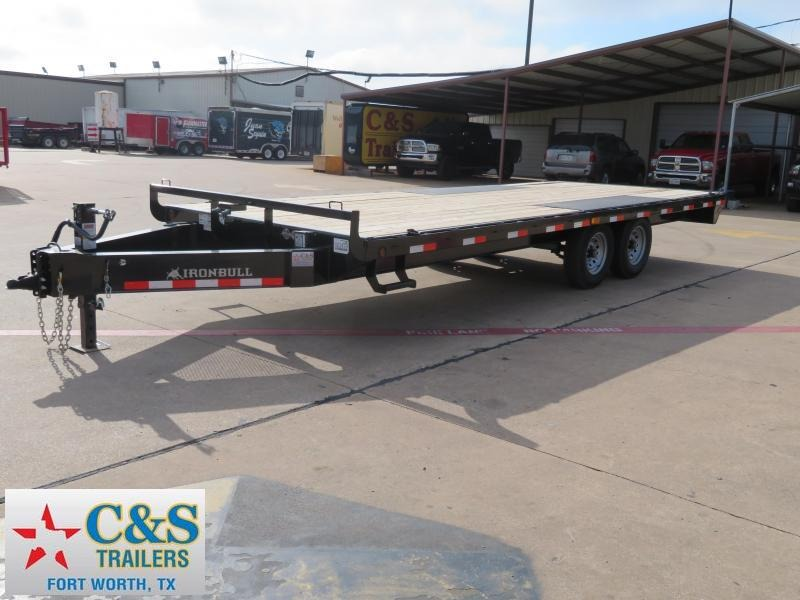2018 Iron Bull 102 x 22 Flatbed Trailer