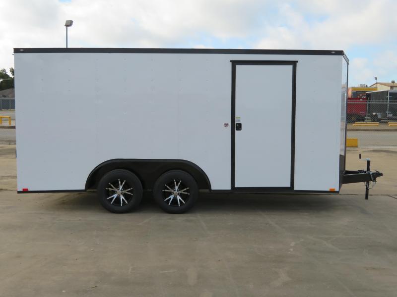 2019 Spartan 8.5 x 16 Enclosed Cargo Trailer