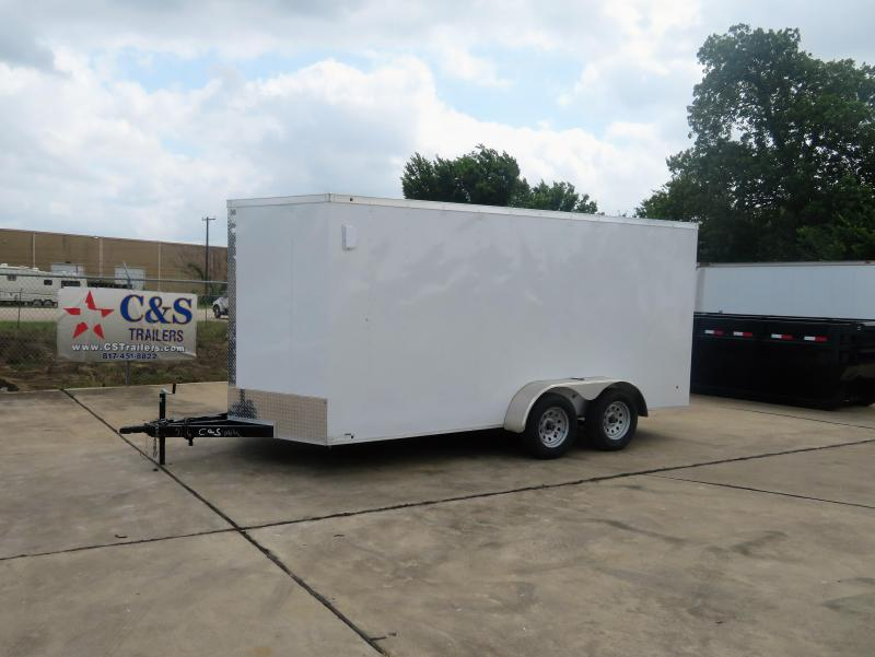 2019 Salvation Trailers 7 X 16 TA Enclosed Cargo Trailer