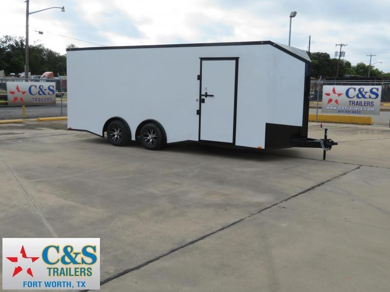 2019 Spartan 102 x 20 Enclosed Cargo Trailer