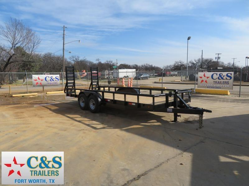 2019 Salvation Trailers 83 x 20 Utility Trailer