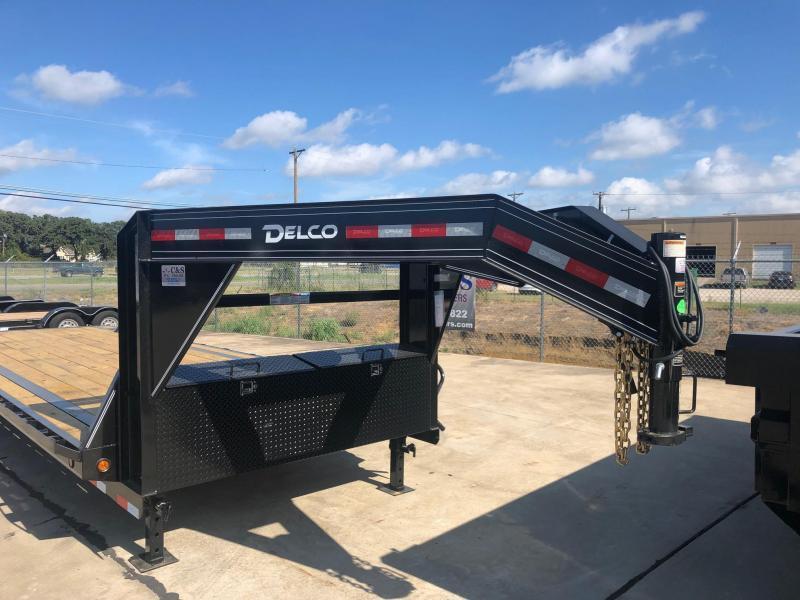 2020 Delco Trailers 102 X 28 Equipment Trailer