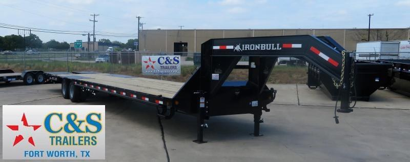 2019 Iron Bull 102 x 40 Flatbed Trailer