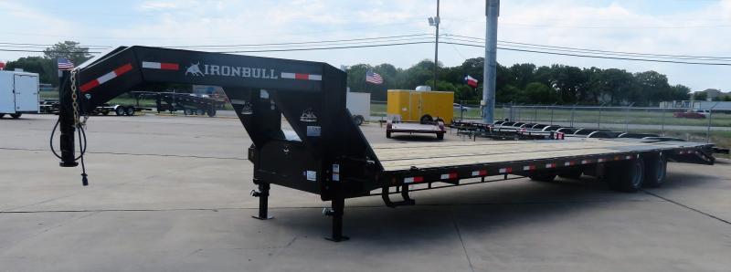 2019 Iron Bull 102 x 40 Flatbed Trailer