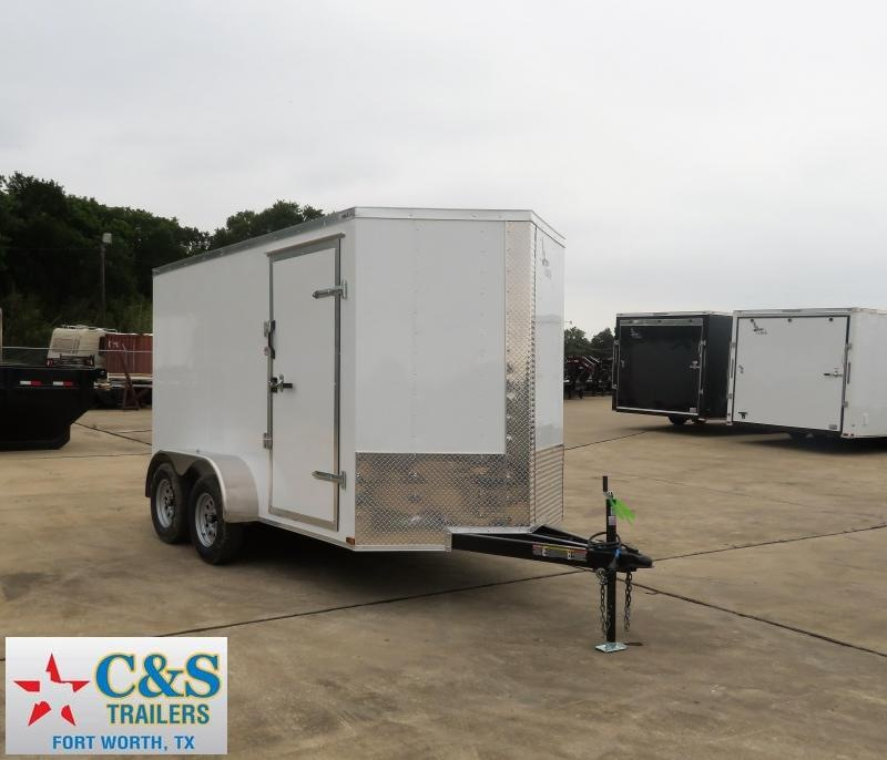 2019 Lark 6 x 12 TA Enclosed Cargo Trailer