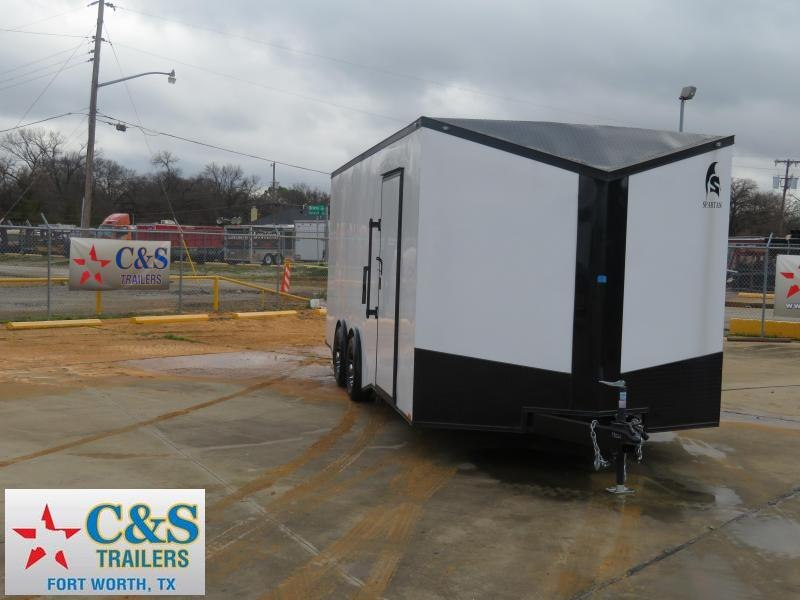 2019 Spartan 102X20 Enclosed Cargo Trailer