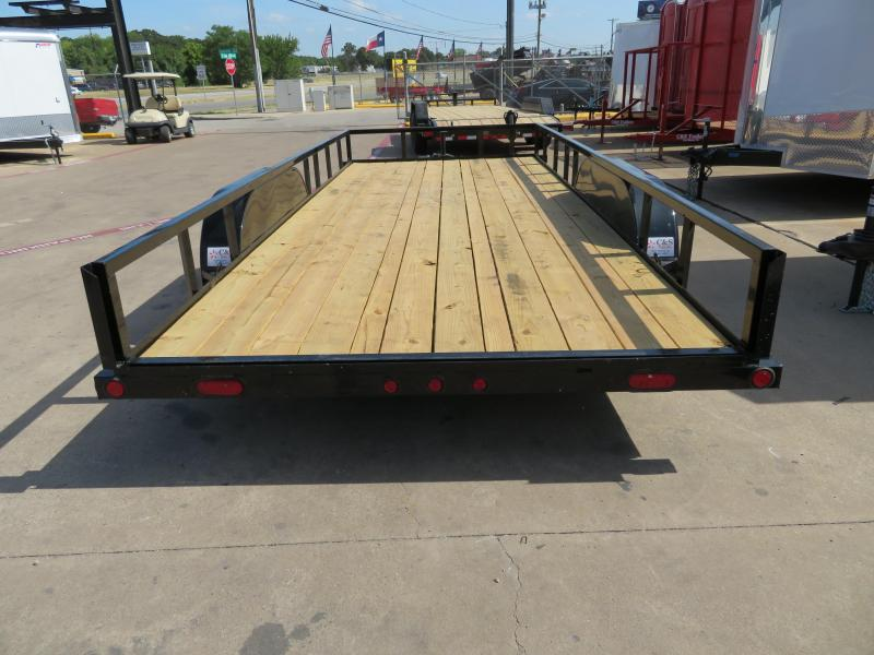 2018 Load Trail 7x18 Equipment Trailer