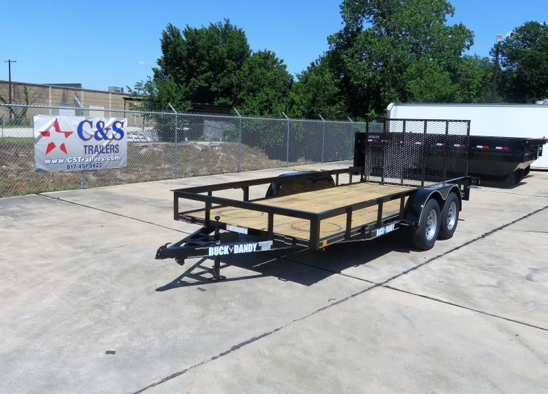 2019 Buck Dandy 77 x 16 Motorcycle Trailer in Ashburn, VA