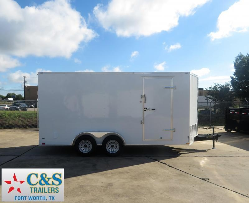 2019 Lark 7 x 16 TA Enclosed Cargo Trailer