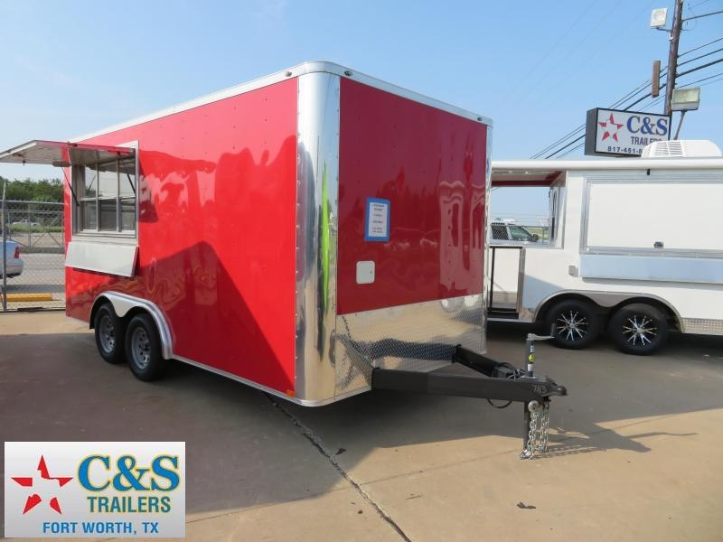 2018 Spartan SP8.5x16 Vending / Concession Trailer