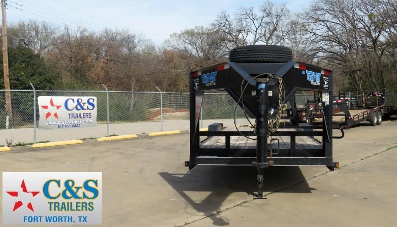 2016 Top Hat Trailers 83x 18 Equipment Trailer