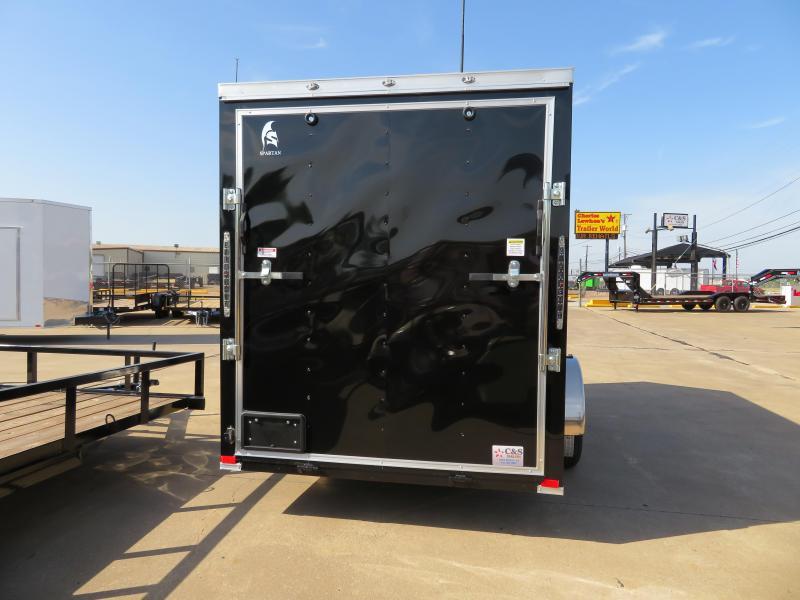 2019 Spartan 6X12 Enclosed Cargo Trailer