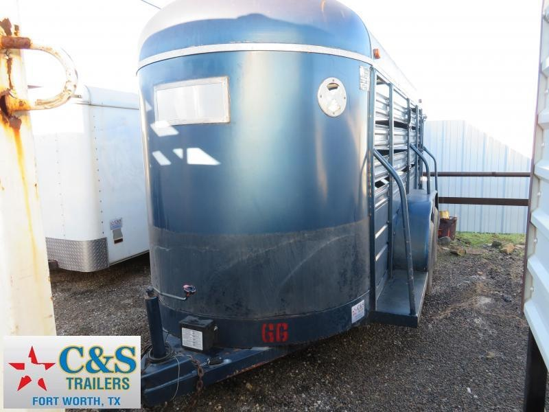 Rental 66 - 2016 S and H Trailers 14 Stock Livestock Trailer in Ashburn, VA