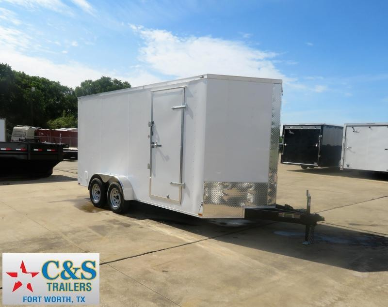 2019 Lark 7' x 16' Enclosed Cargo Trailer