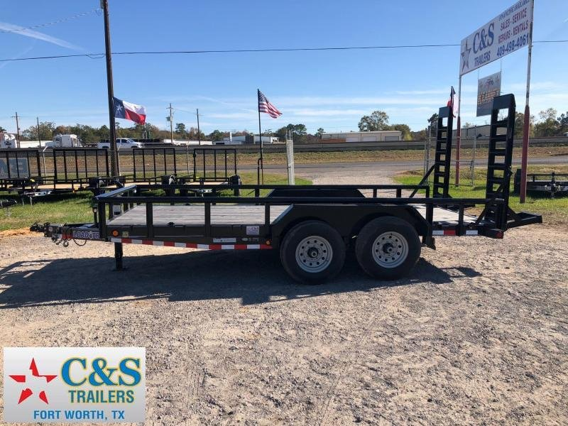 2018 Load Trail 83x18 BPTA Equipment Trailer