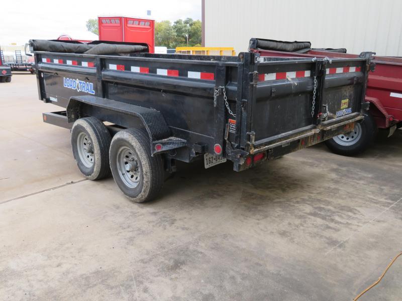 Rental 72 - 2015 Load Trail 83 x 14 Dump Dump Trailer