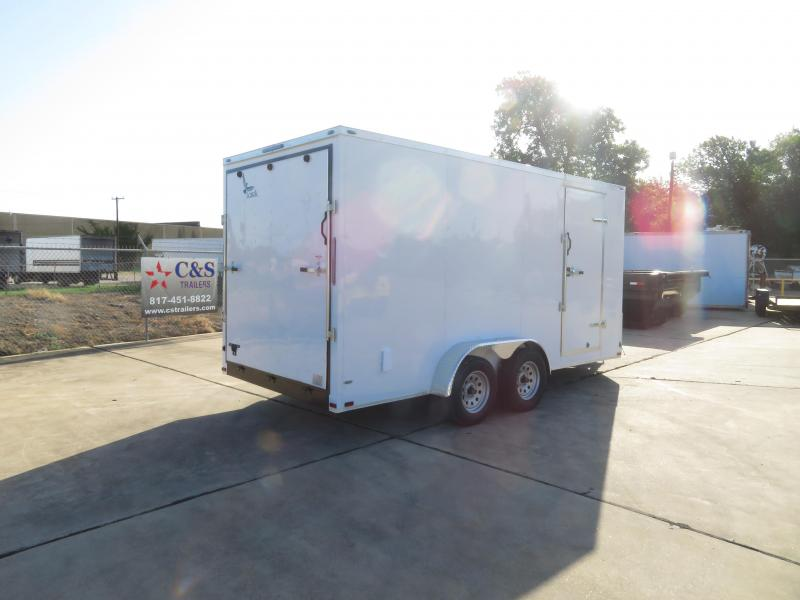 2020 Lark 7 x 16 Enclosed Cargo Trailer