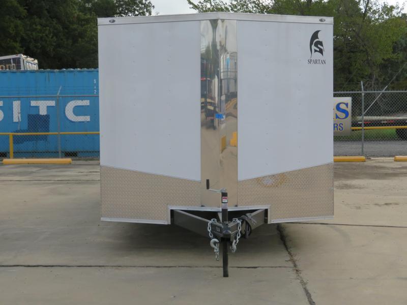 2019 Spartan 102 x 24 Enclosed Cargo Trailer