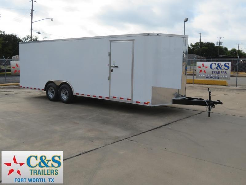 2019 Spartan 102 x 24 Enclosed Cargo Trailer