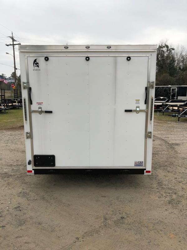 2018 Spartan 7x14 BPTA Enclosed Cargo Trailer