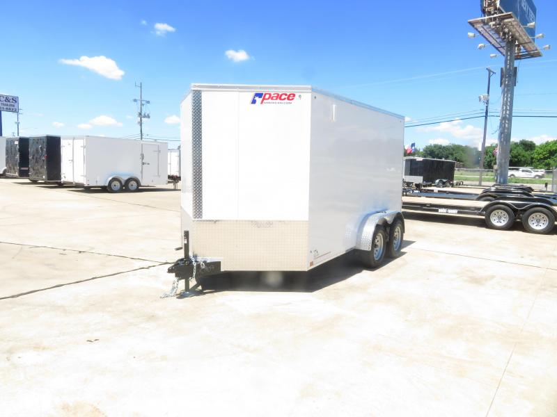 2019 Pace American 7 x 12 Enclosed Cargo Trailer