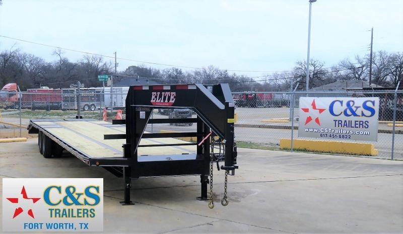 2019 Elite Trailers 102 x 40 Equipment Trailer