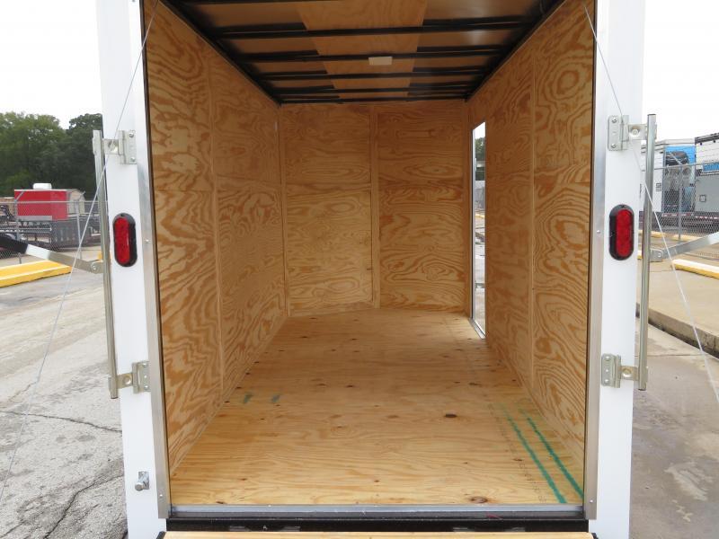 2019 Salvation Trailers 6 x 12' Enclosed Cargo Trailer