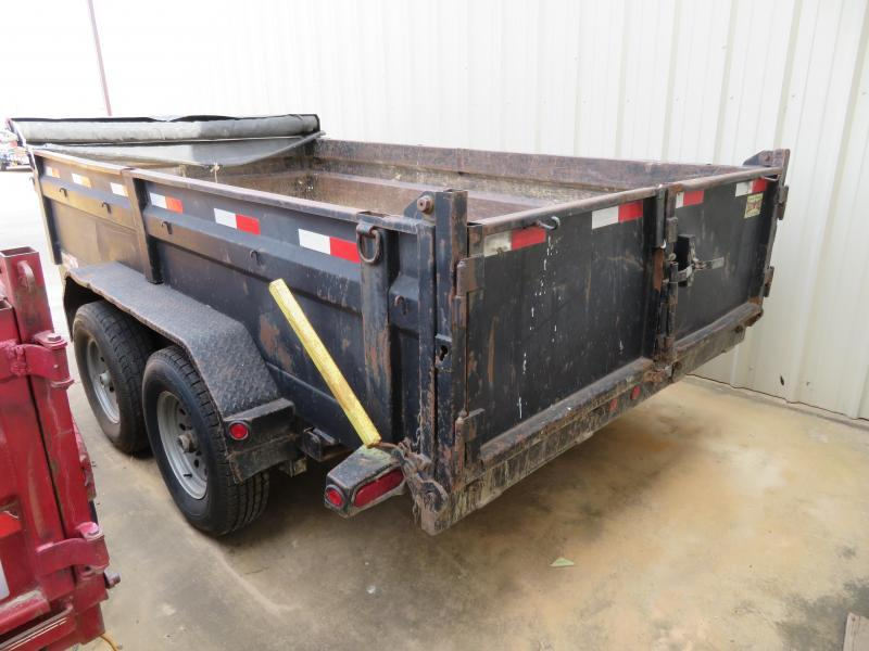 "Rental 23 - Load Trail 83"" x 12' Dump Trailer"