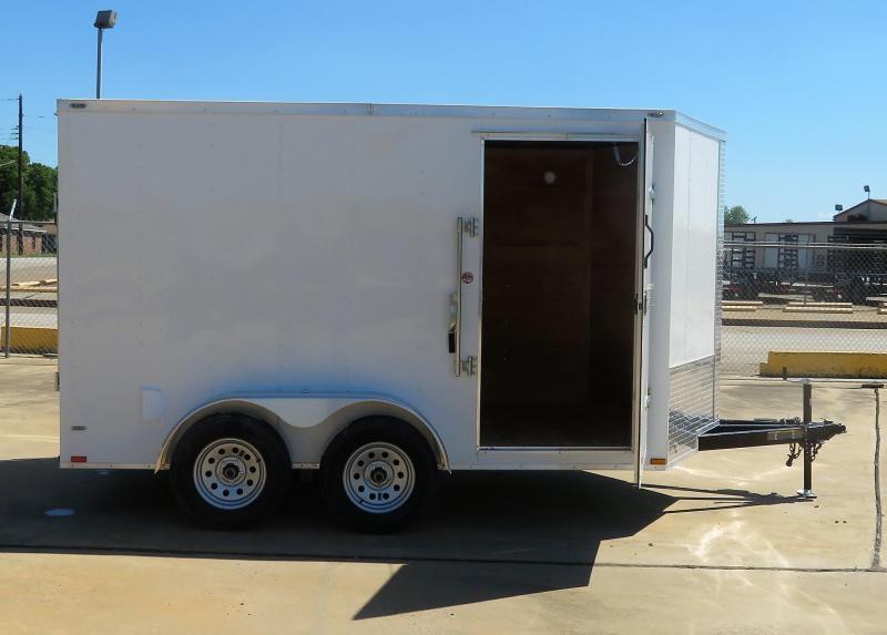 2019 Lark 7 x 12 Enclosed Cargo Trailer