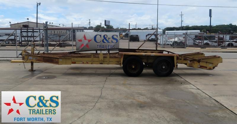1998 Other 83 x 20 Utility Trailer