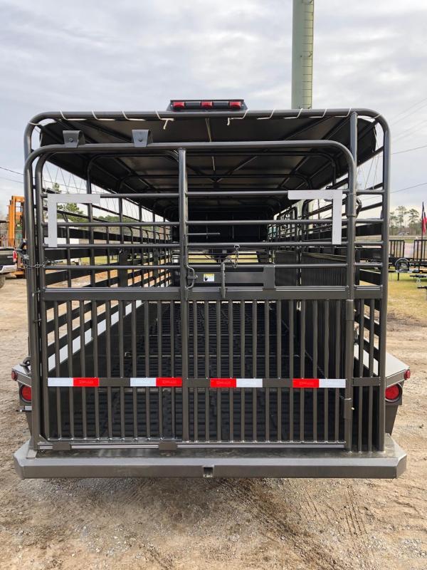 2019 Delco Trailers 80x20 GNTA Livestock Trailer
