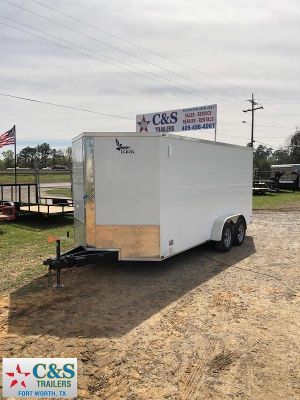 2019 Lark 7x16 BPTA Enclosed Cargo Trailer