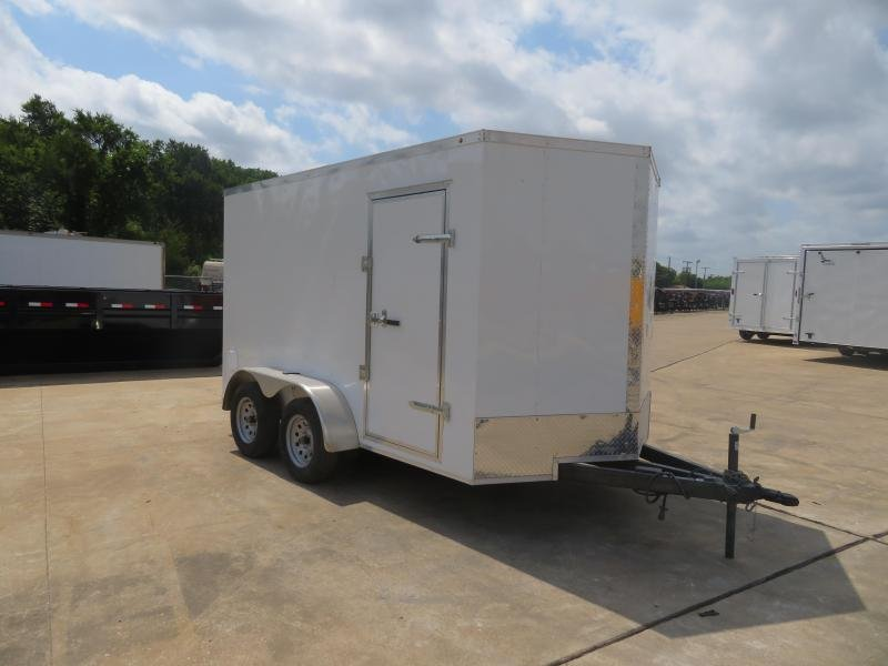 2019 Salvation Trailers 7 X 12 TA Enclosed Cargo Trailer