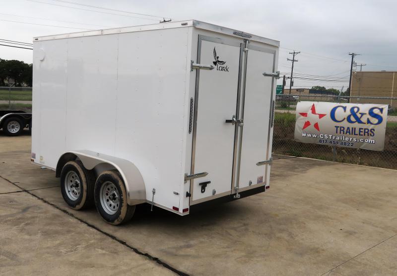 2019 Lark 6 x 12 TA Enclosed Cargo Trailer