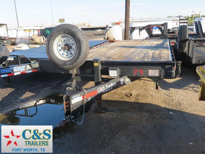Rental 74 - 2015 Other 24 Deckover Flatbed Trailer in Ashburn, VA