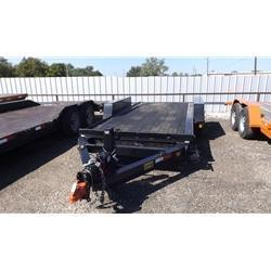"Rental 37 - C & S 81"" x 17' Full Tilt Trailer"