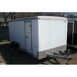 Rental 33 - Wells Cargo 16' Enclosed Cargo Trailer