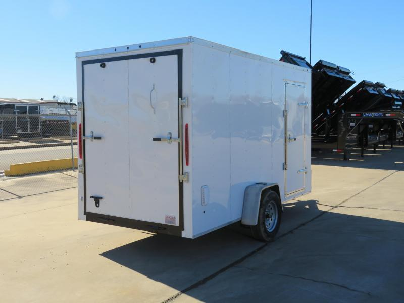 2019 Salvation Trailers 6 x 12 Enclosed Cargo Trailer