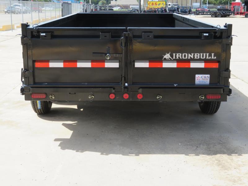 2018 Iron Bull 83 x 16 Dump Trailer