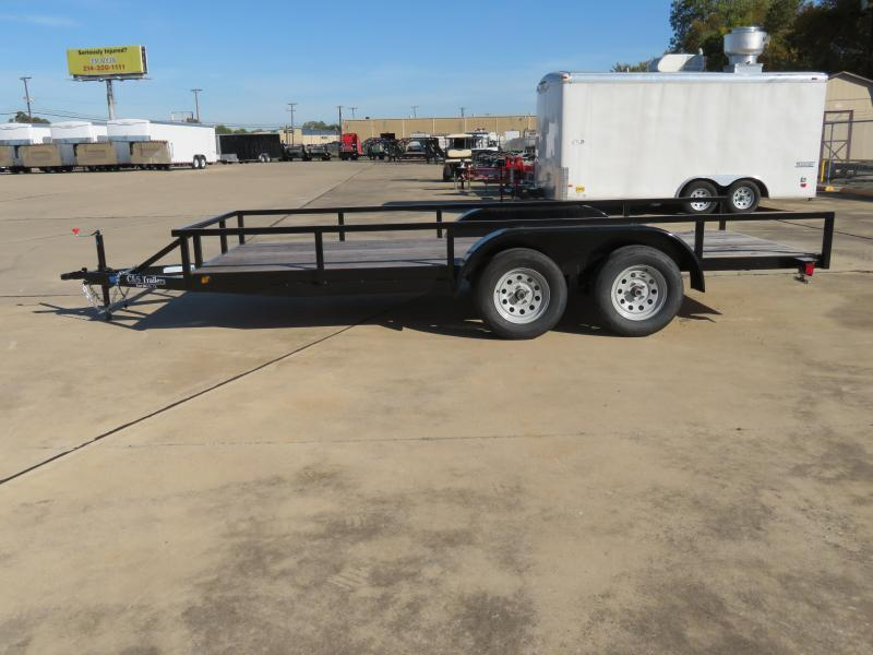 2019 Other 77 x 16 Utility Trailer