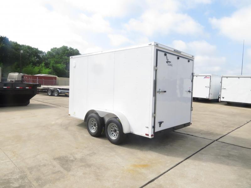 2019 Lark 7 X 12 TA Enclosed Cargo Trailer