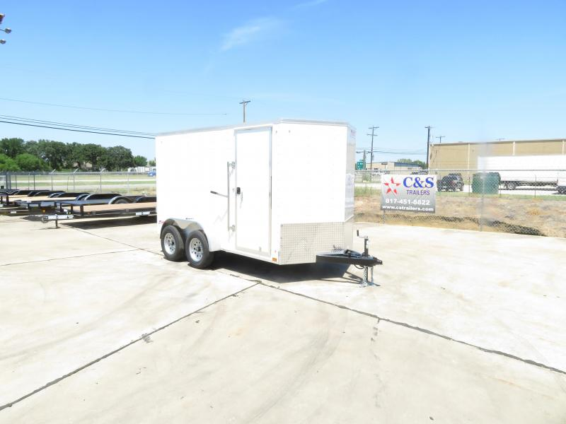 2020 Pace American 6 x 12 Enclosed Cargo Trailer