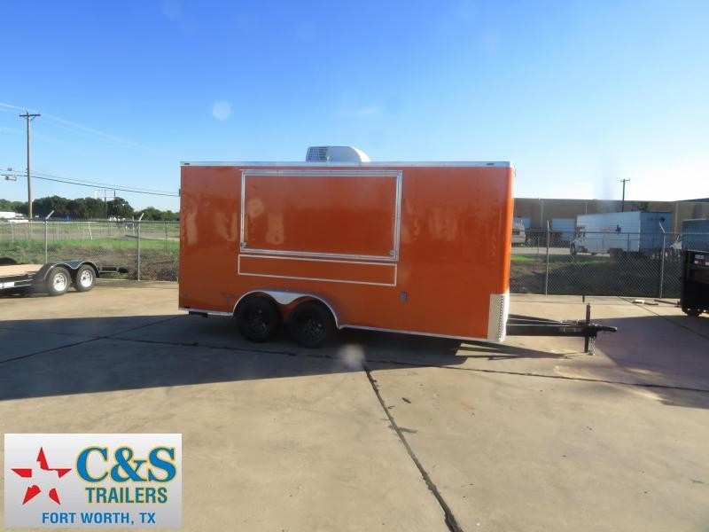 2019 Lark 7 X 16 Vending / Concession Trailer