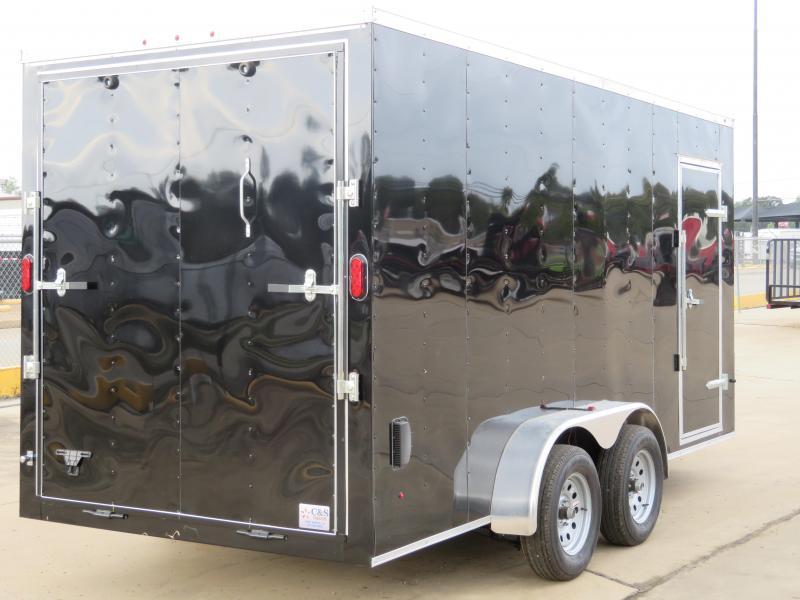 2019 Salem Trailers 7 x 16 Enclosed Cargo Trailer