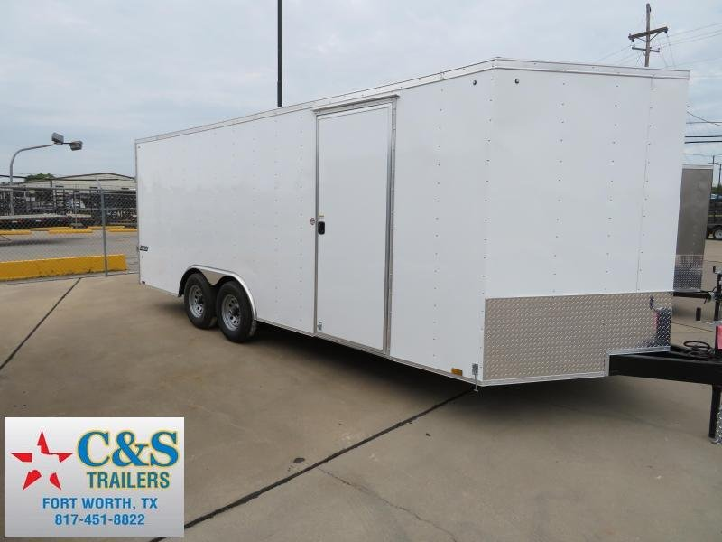 2018 Pace American 8.5x20 Enclosed Cargo Trailer