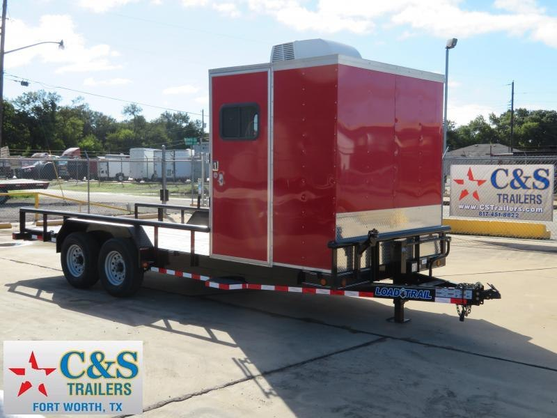 2017 Load Trail 83 X 20 Enclosed Cargo Trailer