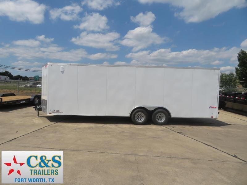 2019 pace  8.5 x 24 Enclosed Cargo Trailer