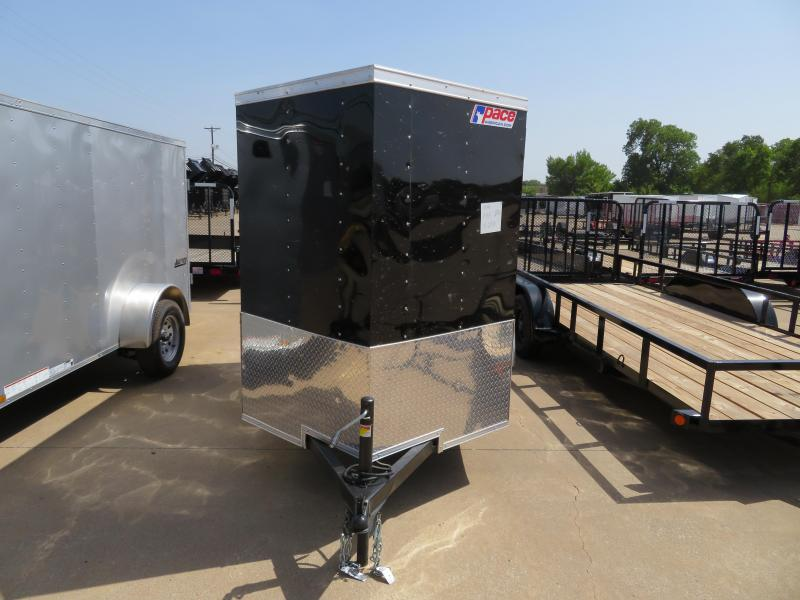 2019 Pace American 5x8 Enclosed Cargo Trailer